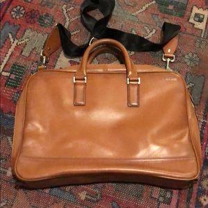 Men's Jack Spade Burnished Leather Briefcase